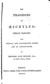 The tragedies of Æschylus