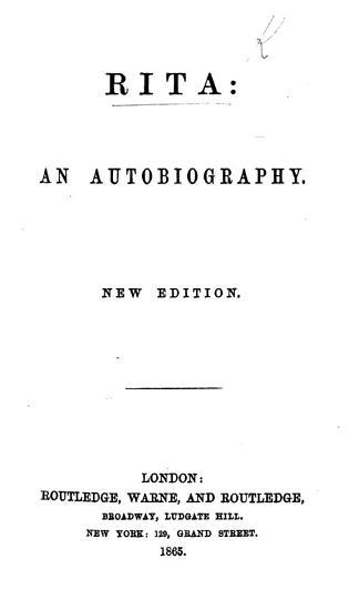 Rita  an autobiography  By Hamilton A  d   PDF