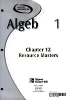 Algebra 1 Chapter 12 Resource Masters PDF