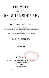 Oeuvres complètes de Shakespeare