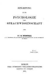 Abriss der Sprachwissenschaft: Band 1