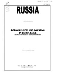 Doing Business and Investing in Russia G PDF