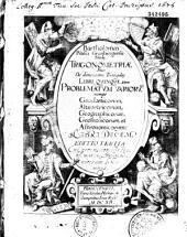 Bartholomaei Pitisci,... Trigonometriae, sive de Dimensione triangulorum libri quinque...
