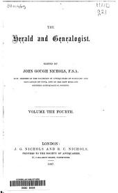 The Herald and Genealogist: Volume 4