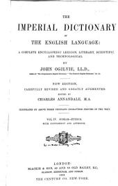 The Imperial Dictionary of the English Language: A Complete Encyclopedic Lexicon, Literary, Scientific, and Technological, Volume 4