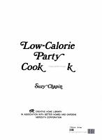 Low calorie Party Cook Book PDF