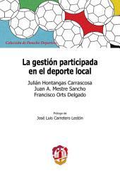 La gestión participada en el deporte local