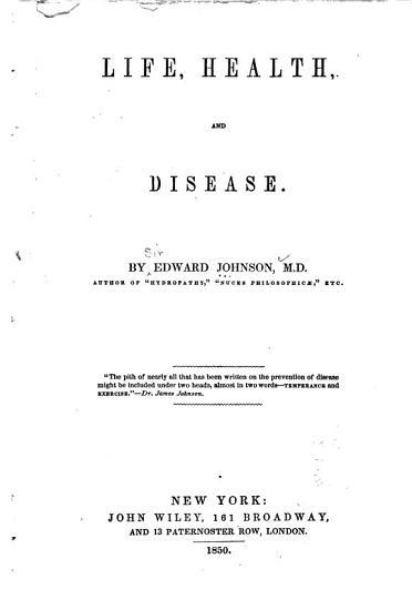 Life  Health and Disease PDF