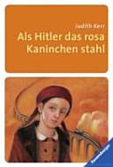 Als Hitler das rosa Kaninchen stahl PDF