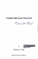 I Took the Easy Way Out PDF