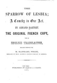 The Sparrow Of Lesbia