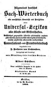Allgemeines deutsches Sach-Wörterbuch aller menschlichen Kenntnisse und Fertigkeiten: oder, Universal-Lexikon aller Künste und Wissenschaften, Band 7
