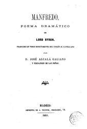 Manfredo: poema dramático