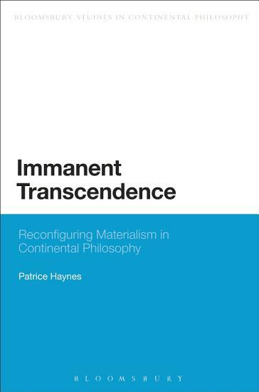 Immanent Transcendence PDF