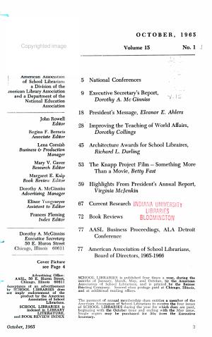 School Libraries PDF