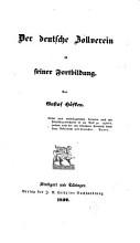 Der deutsche Zollverein in seiner Fortbildung PDF