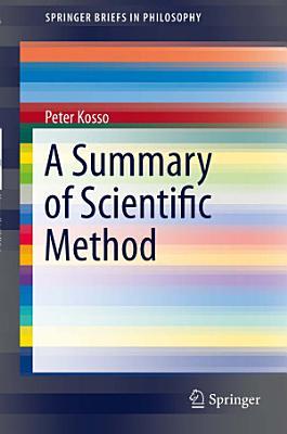 A Summary of Scientific Method PDF