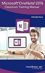 Microsoft OneNote 2016 Training Manual Classroom in a Book