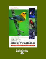 Birds of the Carolinas PDF