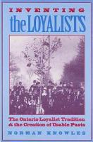 Inventing the Loyalists PDF