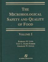 Microbiological Safety and Quality of Food PDF