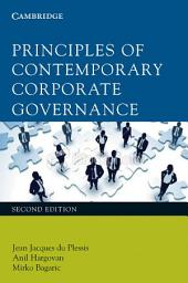 Principles of Contemporary Corporate Governance: Edition 2