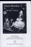 Hans Brinker  Or  The Silver Skates PDF