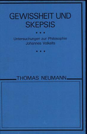 Gewissheit und Skepsis PDF