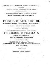 Fridericia et Zollneria, nova plantarum genera, descriptionibus et figuris illustrantur