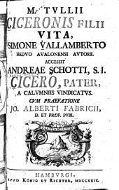 M. Tullii Ciceronis filii vita