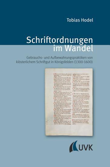Schriftordnungen im Wandel PDF