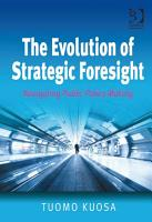 The Evolution of Strategic Foresight PDF