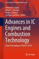 Advances in IC Engines and Combustion Technology PDF
