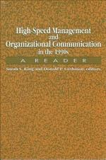 High-Speed Management and Organizational Communication in the 1990s