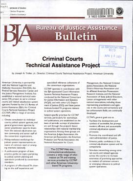 Criminal Courts Technical Assistance Project PDF
