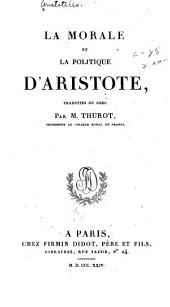 La morale et La politique d'Aristote: Volume2