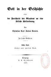 Gott in der Geschichte: oder der Fortschritt des Glaubens an eine sittliche Weltordnung, Band 1