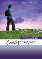 NIV  Find Prayer  VerseLight Bible  eBook PDF