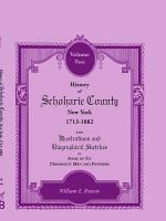 History of Schoharie County  New York  1713 1882  VOLUME 2 PDF