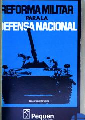 Reforma militar para la defensa nacional PDF