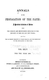 Annals of the Propagation of the Faith: Volumes 23-24