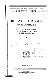 Retail Prices and Cost of Living Series: Issues 4-10