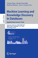 Machine Learning and Knowledge Discovery in Databases. Applied Data Science Track