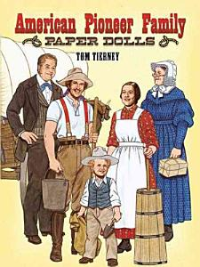 American Pioneer Family Paper Dolls Book