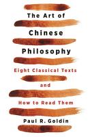 The Art of Chinese Philosophy PDF