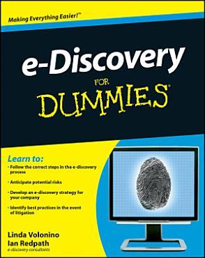 e Discovery For Dummies PDF