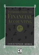 Introduction to Financial Accounting Book