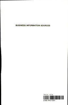 Business Information Sources PDF