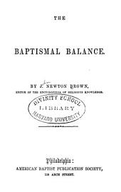 The baptismal balance
