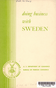 Doing Business with Sweden PDF